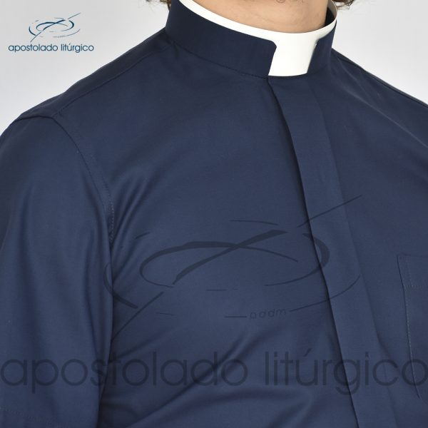 Camisa Confort Gola Romana