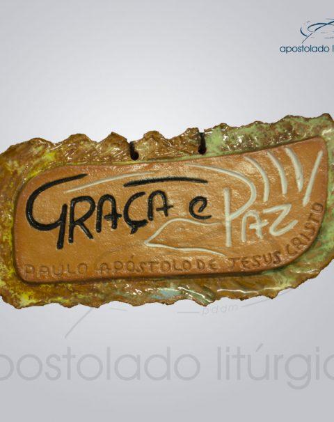 Quadro de Ceramica Graca e Paz-2263
