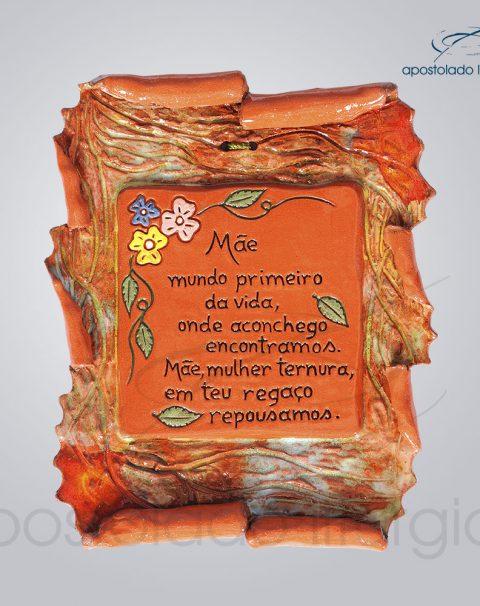 Quadro de Ceramica Mae Pergaminho-2166