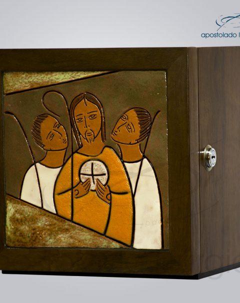 Sacrario Emaus Vidrado 22x22x22 – COD 4081