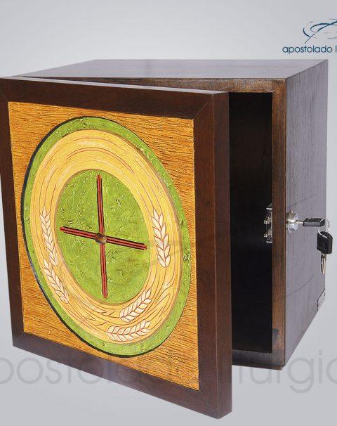 Sacrario Trigo Cruz Medio 32x32x26cm Frente Aberto – COD 4159