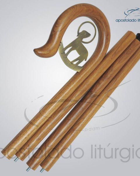 Baculo Cordeiro Madeira Clara 180cm Desmontado – COD 4190