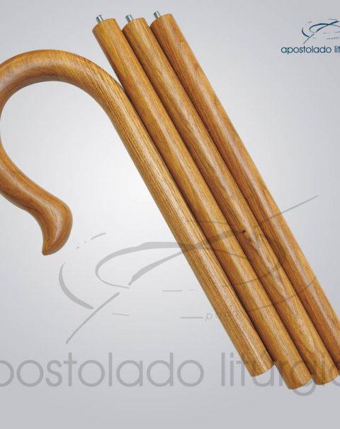 Baculo Simples Madeira Clara 180cm