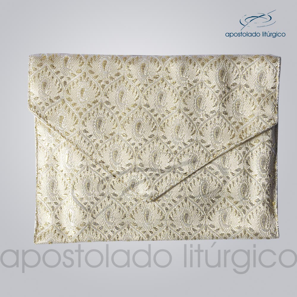 Bolsa de Viatico Brocada 10X15 cm 1 | Apostolado Litúrgico Brasil