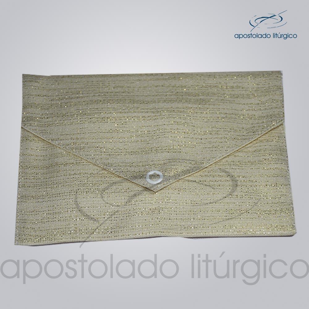 Bolsa de Viatico Brocada damasco 10X15 cm 2018 | Apostolado Litúrgico Brasil