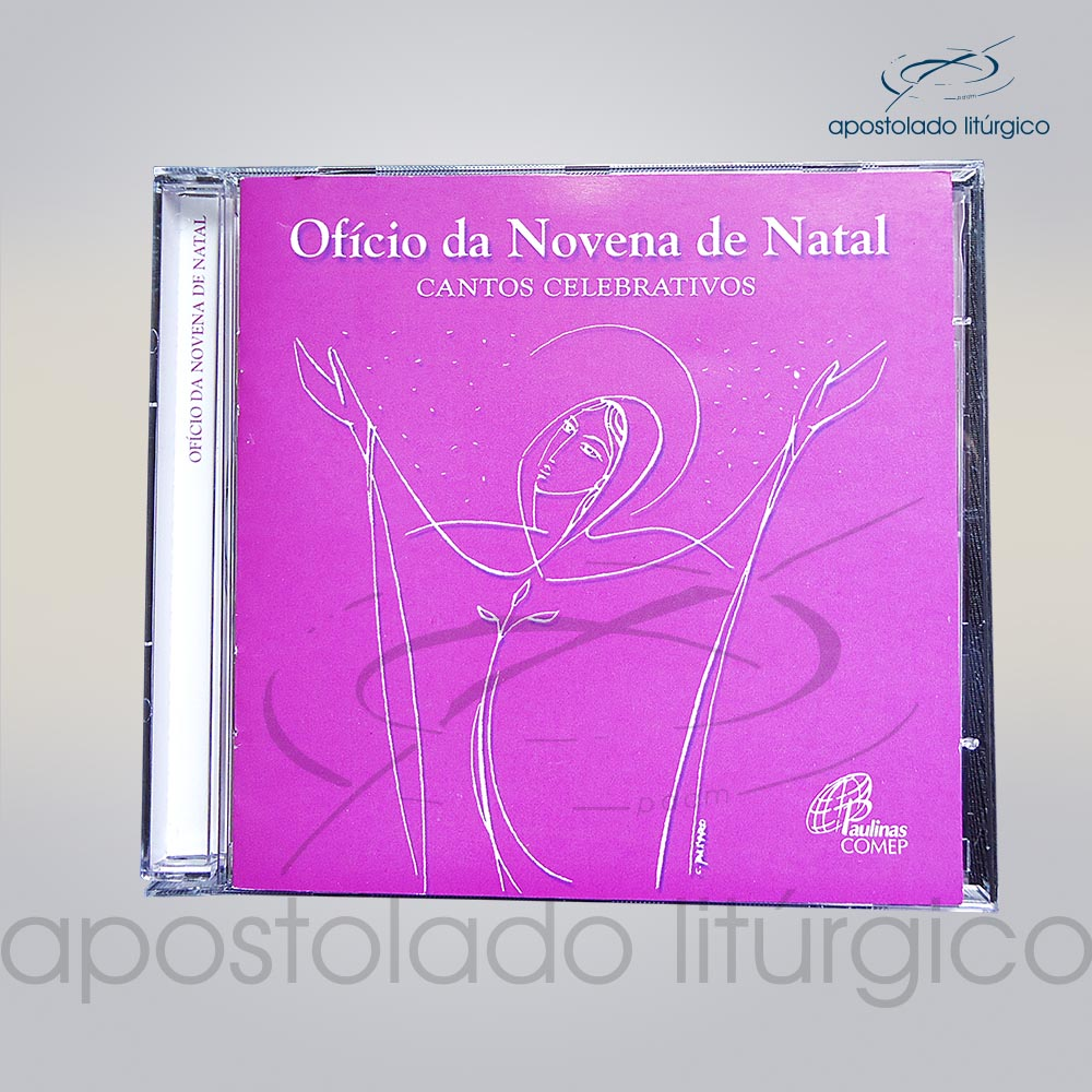 CD OfIcio da Novena do Natal COD 5632 | Apostolado Litúrgico Brasil
