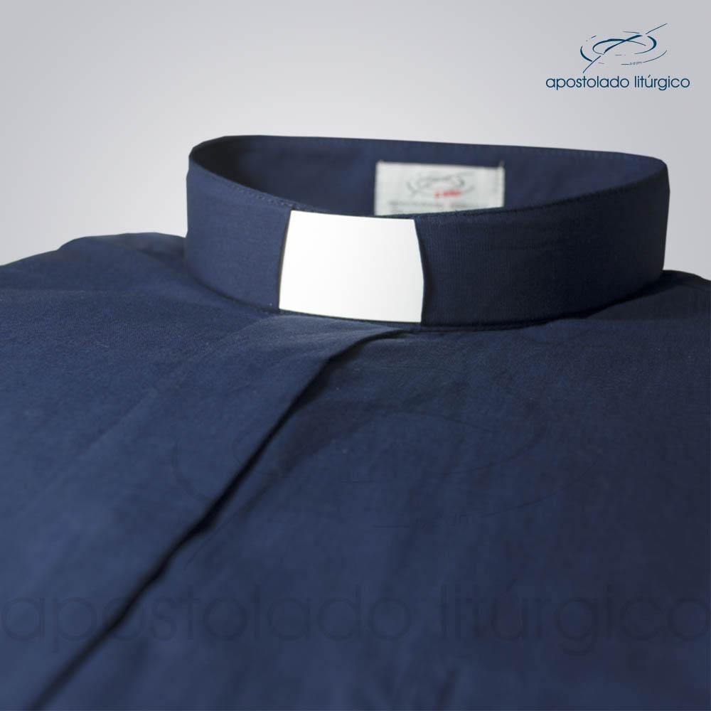 Camisa Algodão Azul Marinho Gola COD 1441 | Apostolado Litúrgico Brasil