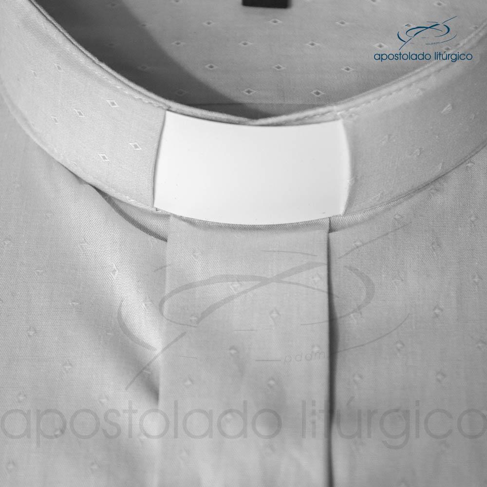 Camisa Algodão Cinza Triangulo Gola | Apostolado Litúrgico Brasil