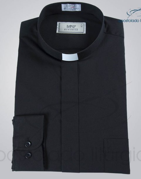 Camisa Natural Blend Preta Manga Longa