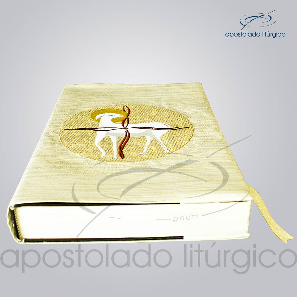Capa de Evangeliario Dourada | Apostolado Litúrgico Brasil