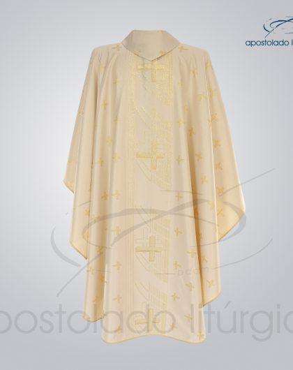 Casula Brocado Cruz Pascal Perola Costa - COD 3305