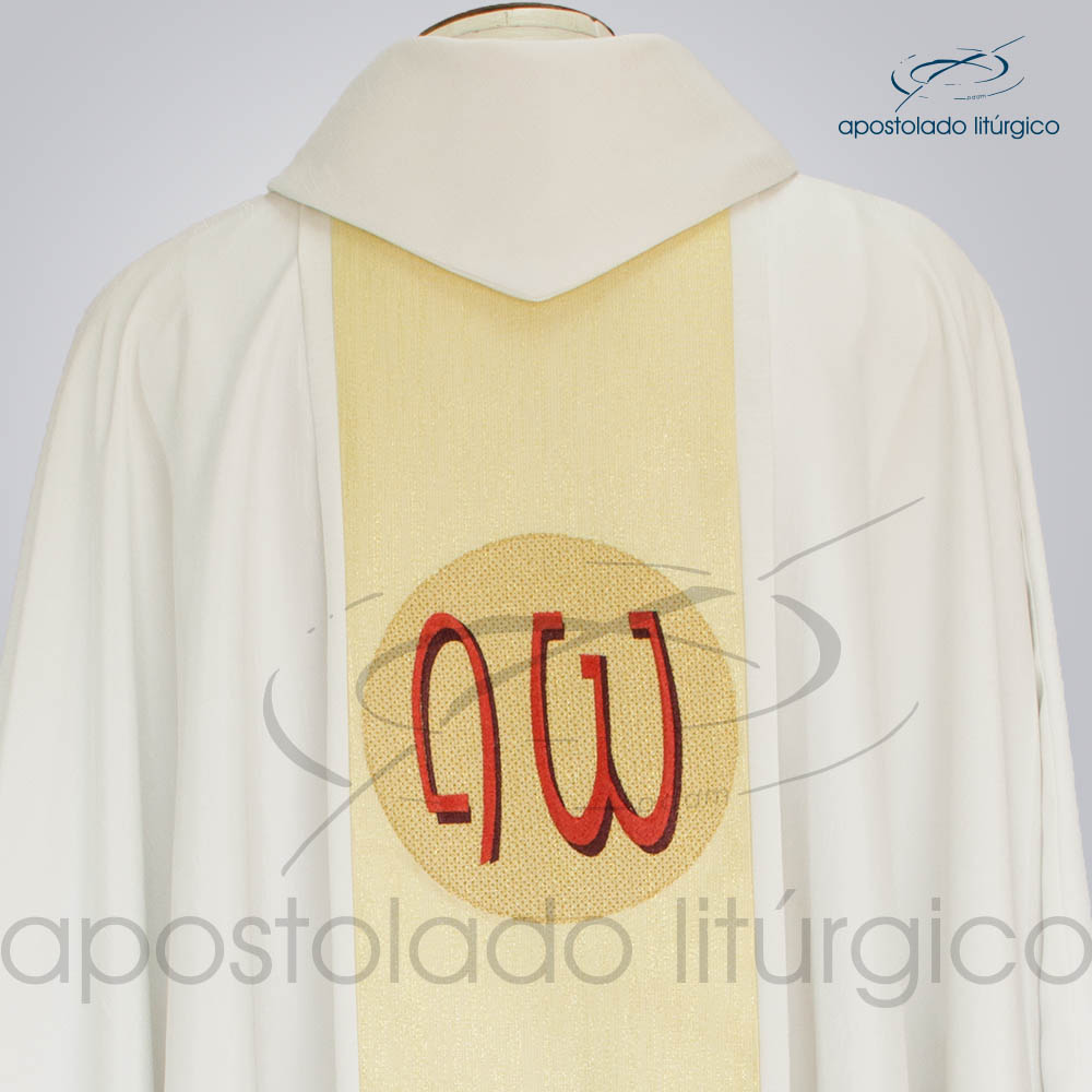 Casula Crepe Seda Bom Pastor