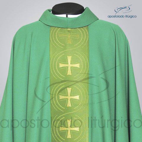 Casula Oxford Galao Circulo Cruz Verde Frente Superior – COD 3418
