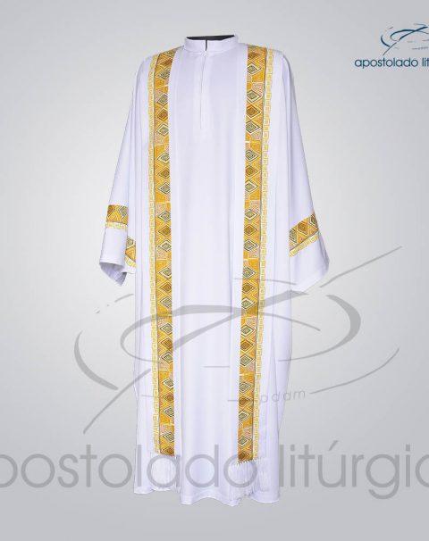 Conjunto Casula Alva [Com Aplicacao N 9] 146cm Frente 2 – COD 01021-0000