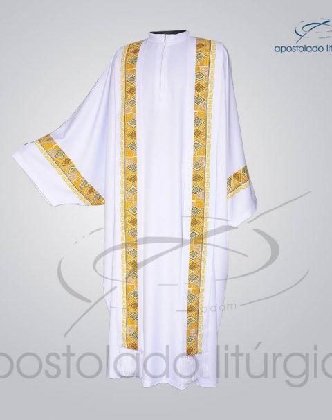 Conjunto Casula Alva [Com Aplicacao N 9] 146cm Frente – COD 01021-0000