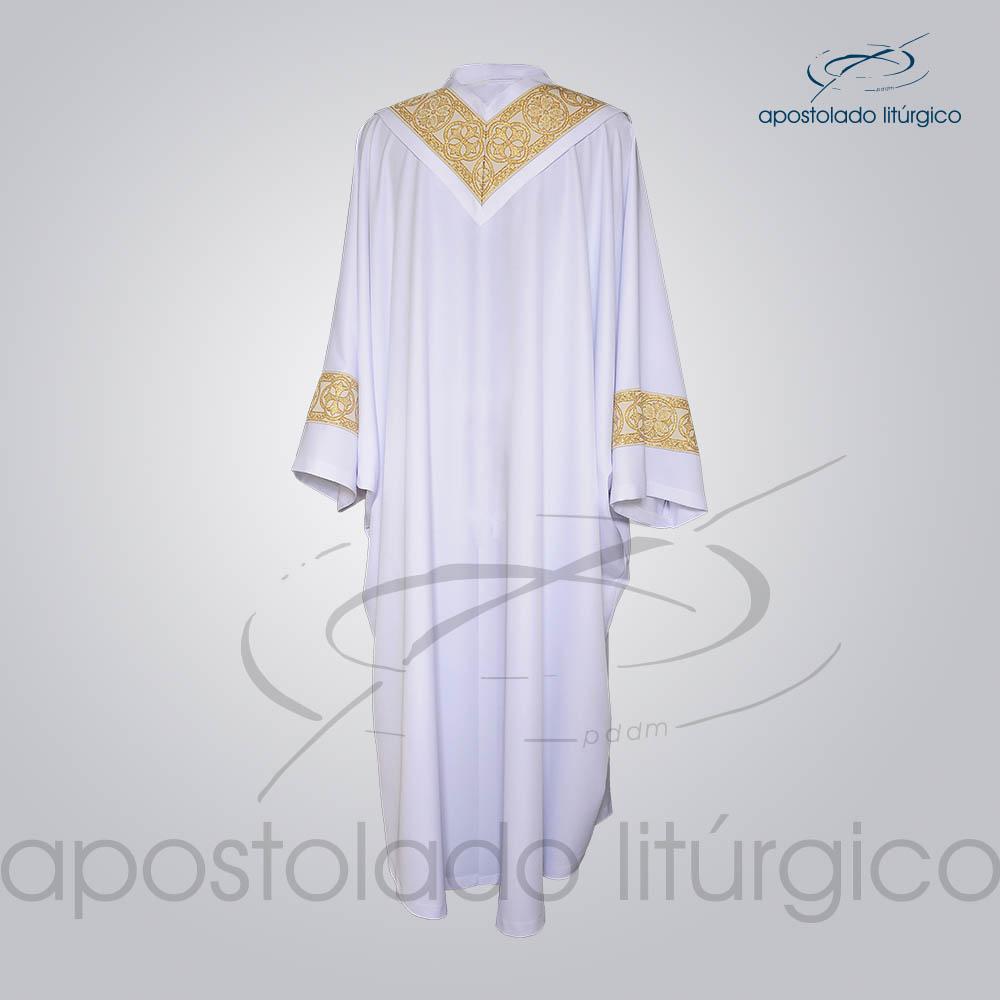 Conjunto Casula Alva Galao Largo N 10 Dourado Costas COD 01865 0000 | Apostolado Litúrgico Brasil