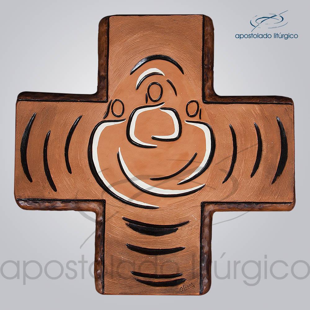 Cruz Ressurreicao Grande 36x36cm - COD 2009
