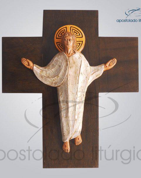 Cruz Ressuscitado Pequeno 29x34cm – COD 2089