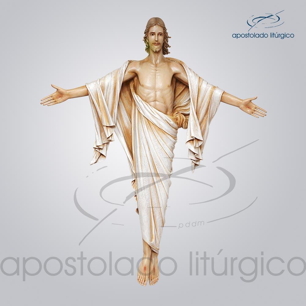 Imagem Cristo Ressuscitado 160x150cm Frente COD 4302   Apostolado Litúrgico Brasil