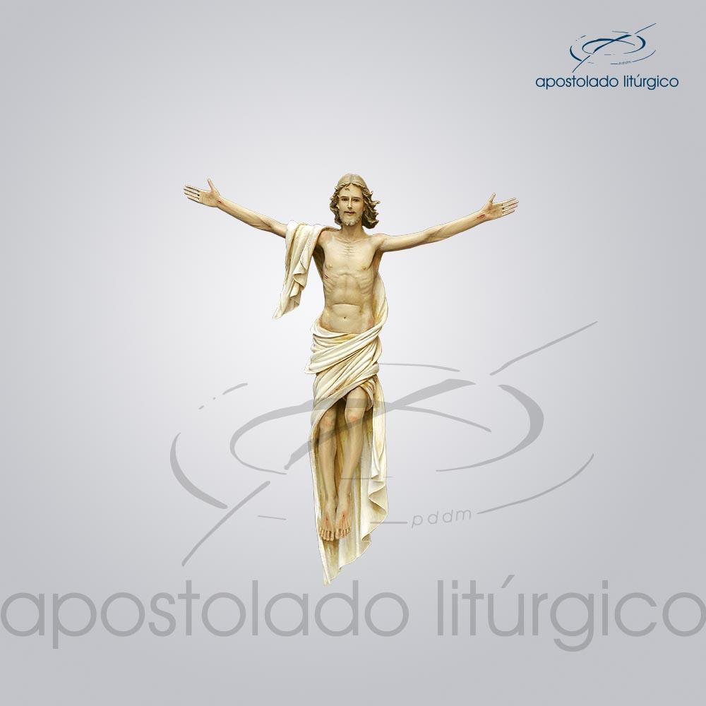 Imagem Cristo Ressuscitado 40 cm COD 4248 | Apostolado Litúrgico Brasil