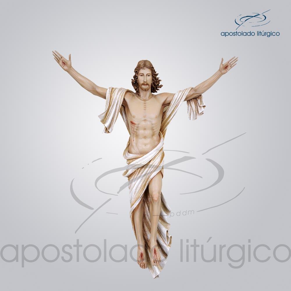 Imagem Cristo Ressuscitado 60x45cm Frente COD 4138 | Apostolado Litúrgico Brasil