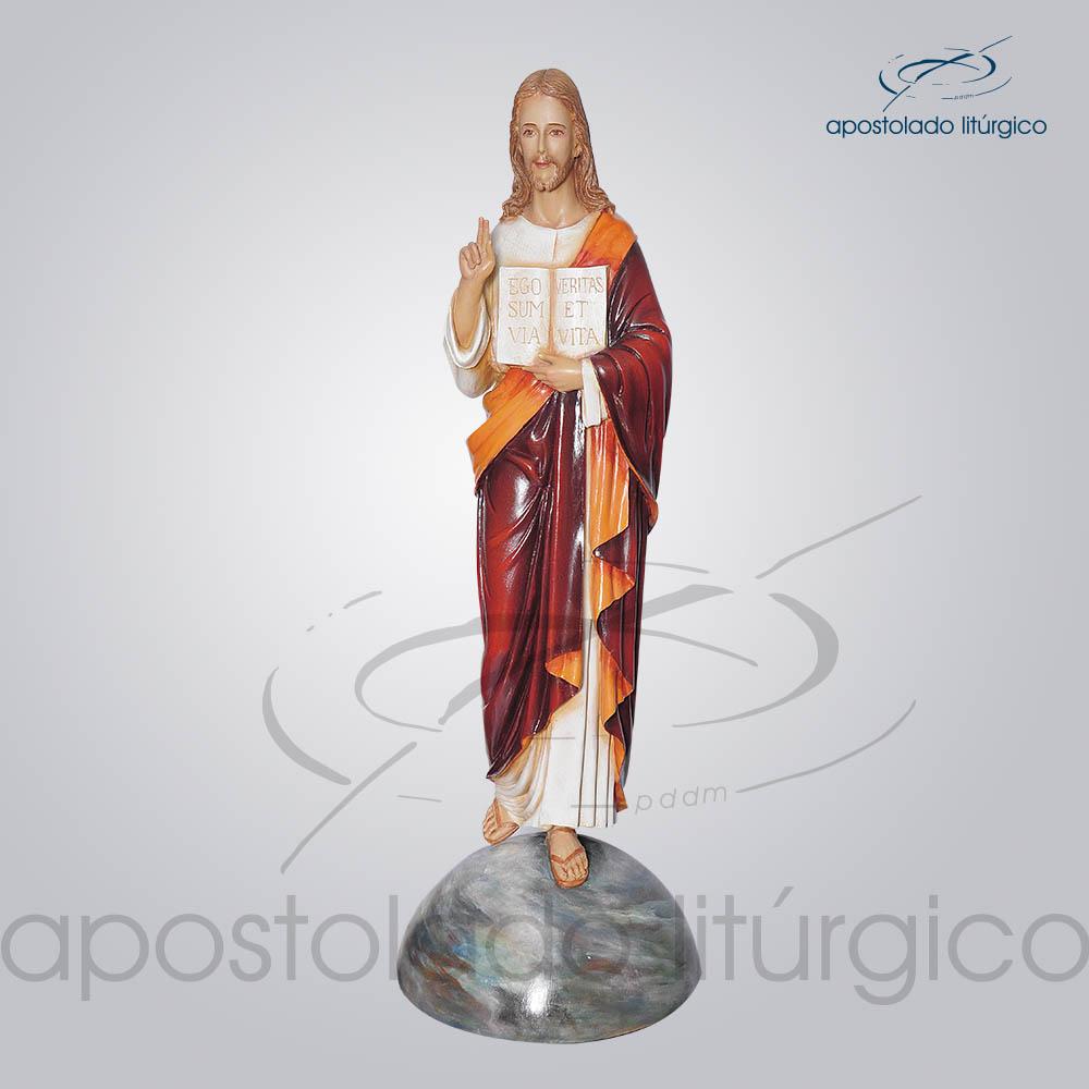 Imagem Divino Mestre 100cm | Apostolado Litúrgico Brasil