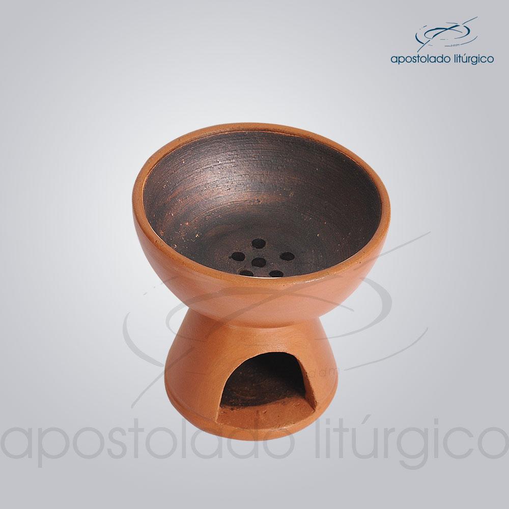 Incensório de Cerâmica Mini 7cm - COD 2033