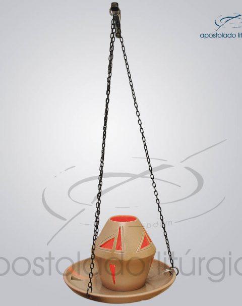 Indicador de Ceramica Para Sacrario Com Corrente Esmaltado 20cm Diametro 1 – COD 2051 (7)