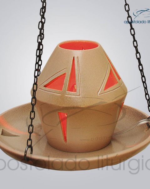 Indicador de Ceramica Para Sacrario Com Corrente Esmaltado 20cm Diametro – COD 2051 (7)