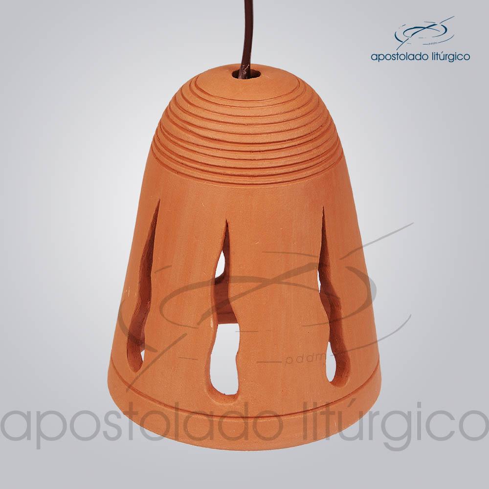 Indicador de Ceramica Sino Chama 12x15cm COD 38029 | Apostolado Litúrgico Brasil