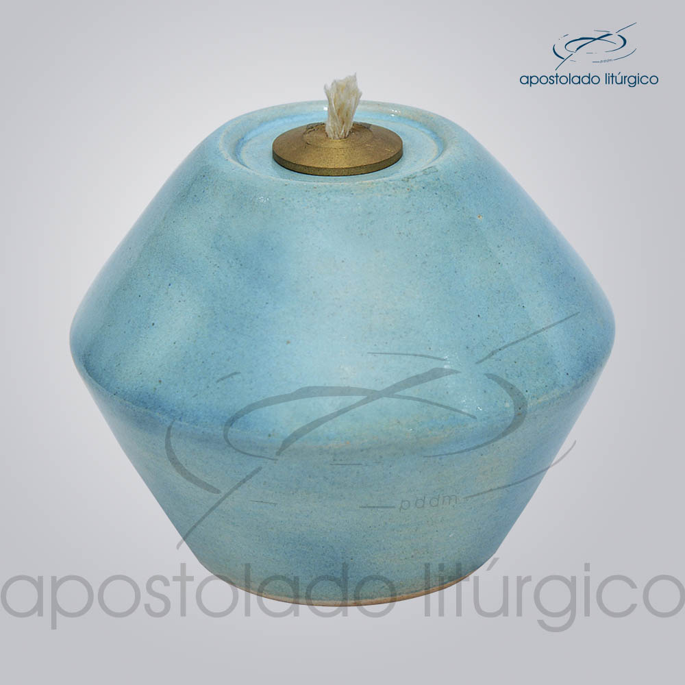 Indicador de Cerâmica para Fluido 10 cm Azul Claro