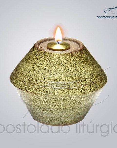 Indicador de Ceramica para Fluido 10 cm Verde Musgo Rajado – COD 2177 (1)
