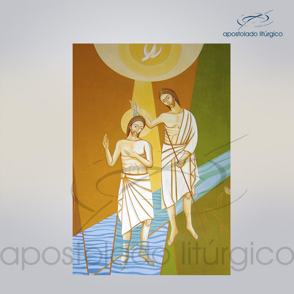 Lembranca para Batismo 11X8 cm frente cod 03052 0000   Apostolado Litúrgico Brasil
