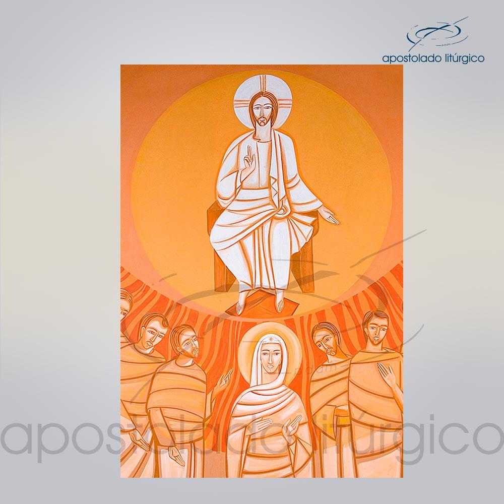 Lembranca para Crisma 11X8 cm frente COD 03053 0000 | Apostolado Litúrgico Brasil