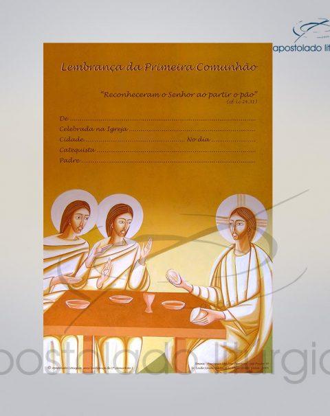 Lembranca para Primeira Comunhao 28X20 cm COD 03048-0000