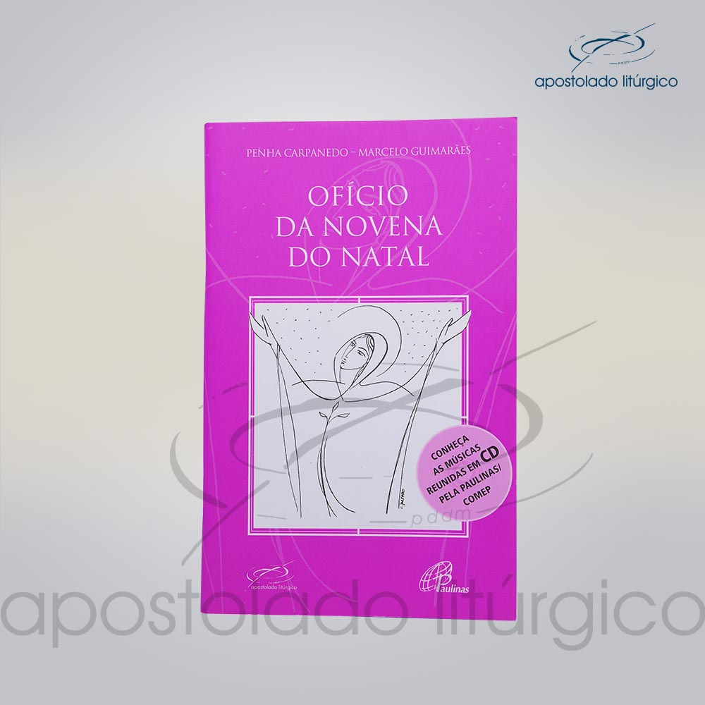 Livro Oficio da Novena de Natal COD 05279 0000 | Apostolado Litúrgico Brasil