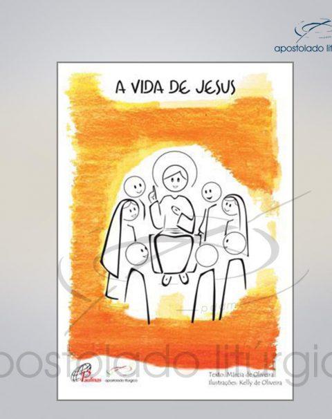 Livro Para Criancas – A Vida de Jesus cod 05076-000