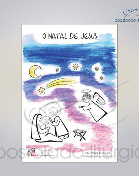 Livro Para Criancas – O Natal de Jesus COD 05075-0000