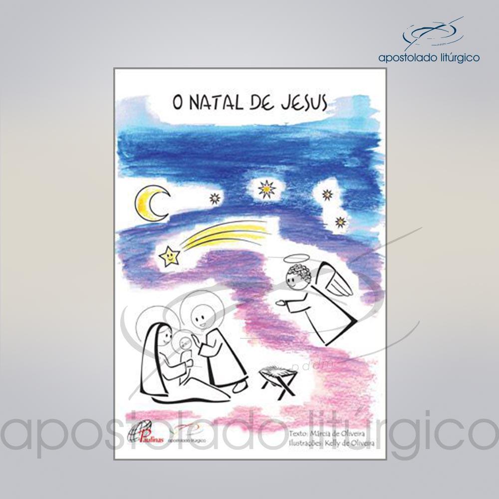 Livro Para Criancas O Natal de Jesus COD 05075 0000 | Apostolado Litúrgico Brasil