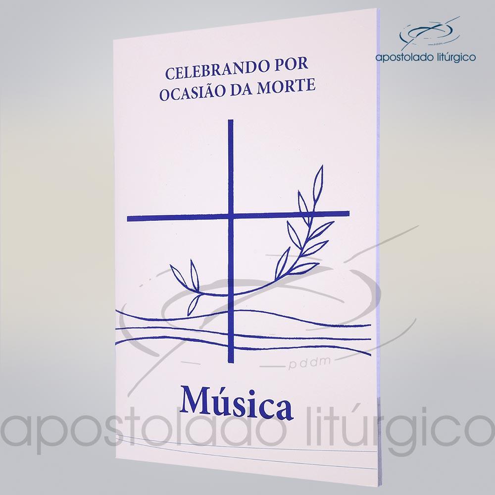 Livro Partitura Celebracao por Ocasiao da Morte COD 05048 0000 | Apostolado Litúrgico Brasil