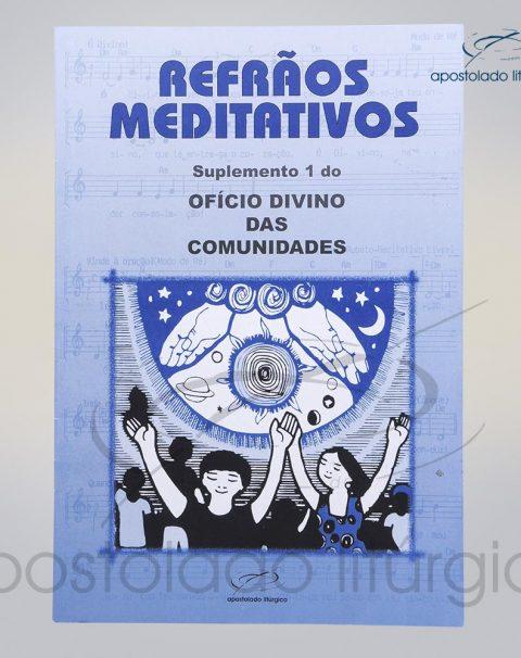 Livro Refrões Meditativos cod 05145-0000