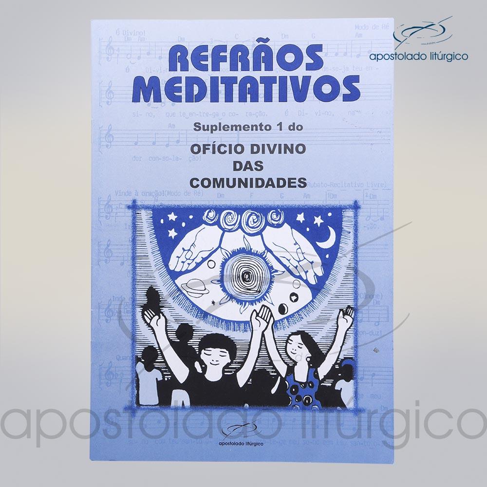 Livro Refroes Meditativos cod 05145 0000   Apostolado Litúrgico Brasil