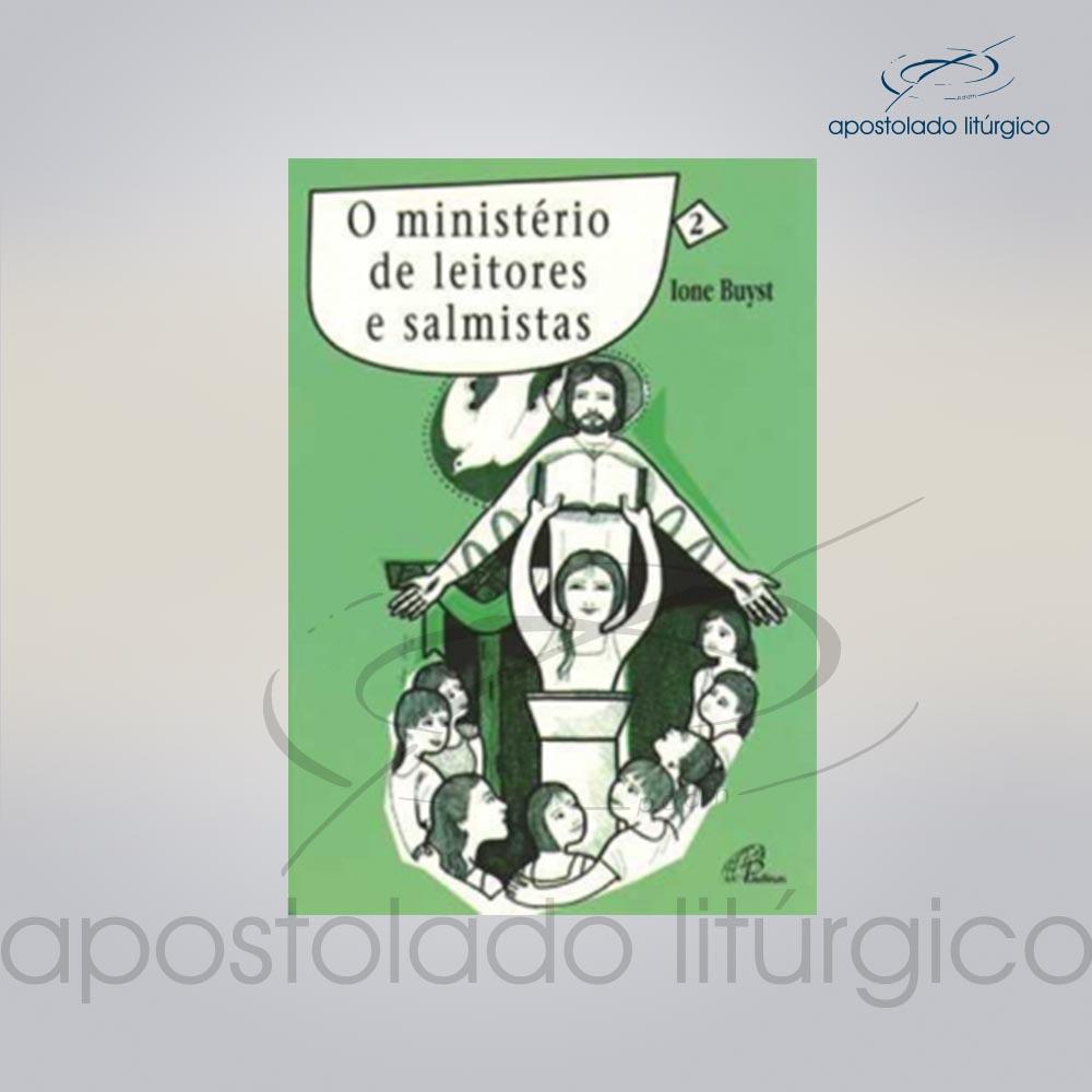 Livro Volume 2 O Ministerio Leitores e Salmistas COD 05247 0000 | Apostolado Litúrgico Brasil