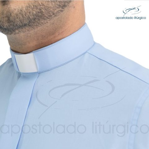Camisa Slim Fit Gola Clerical