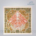 Painel Tempo Comum 125x130 cm