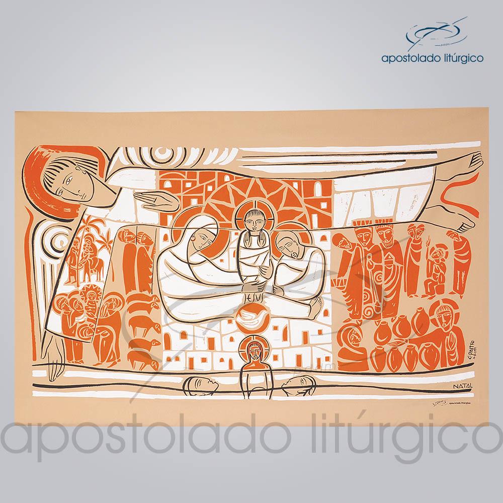Painel Liturgico Tempo do Natal 146x93cm