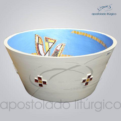 Pia Batismal Espirito 32x66cm (Fundo 38cm) Lateral