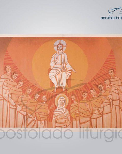 Tela Pentecostes 143x100cm
