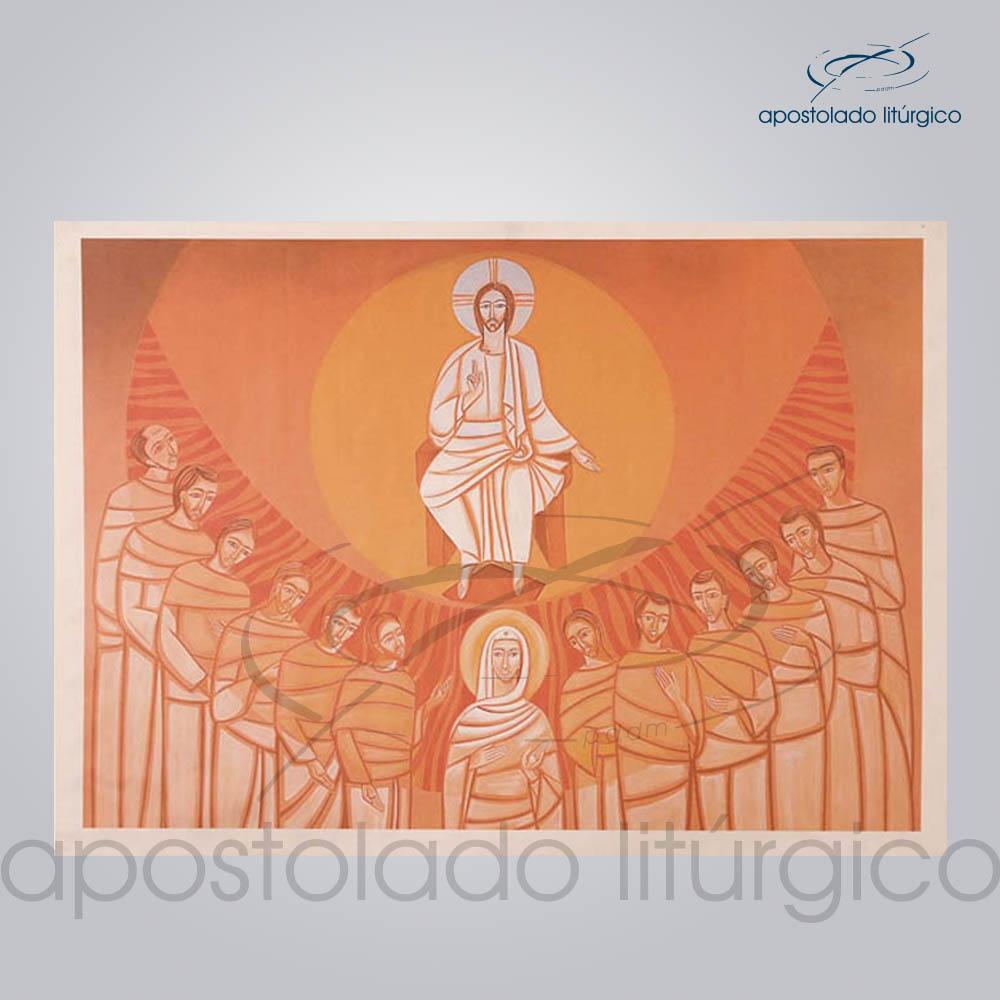 Tela Pentecostes 143x100cm | Apostolado Litúrgico Brasil