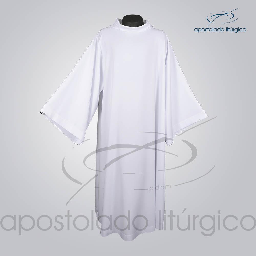 Tunica Monacal Branca Frente COD 1166 | Apostolado Litúrgico Brasil